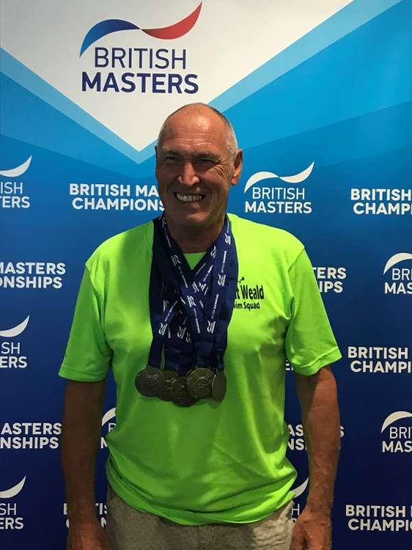 British Masters Championships 2018 at Plymouth Life Centre
