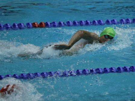 Henry Rennolls Swims to a first place