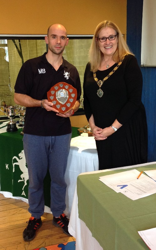 The Upton Trophy (Masters Swimmer of the Year - Male): Mariusz Barcikowski (Black Lion)